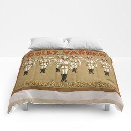 Vintage poster - Dolly Varden Comforters