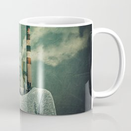 factory instead of head Coffee Mug