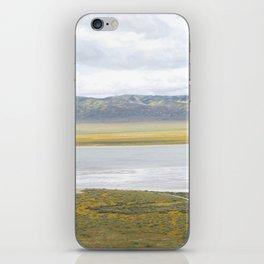 Carrizo Plain Mega Bloom, Central California iPhone Skin