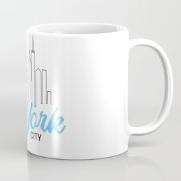 New York City City NYC Gift Holiday Coffee Mug