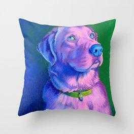 Pink Charlie Throw Pillow