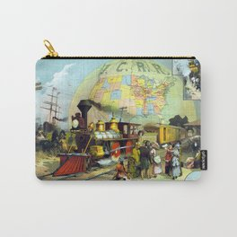 Transcontinental Railroad Carry-All Pouch