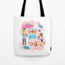 I is for Ice Cream! Tote Bag