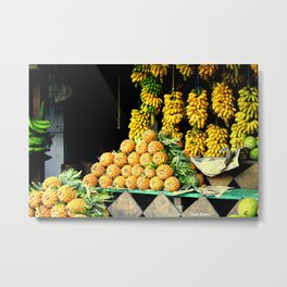 When in the Tropic Metal Print