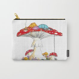 Fungi Nights - Mushroom Forest Tent Camping Carry-All Pouch