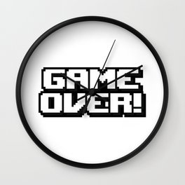 GAME OVER! Wall Clock