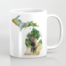 Michigan Elk Coffee Mug