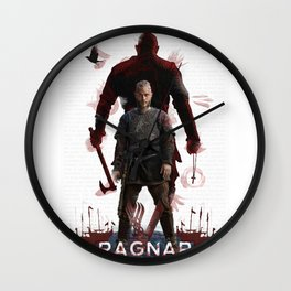 Ragnar - Vikings Wall Clock