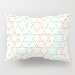 Star Of David Pattern  #society6 #decor #buyart #artprint Pillow Sham