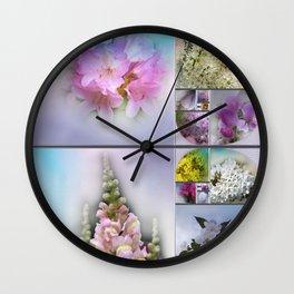 the heart of spring for Fibonacci Wall Clock