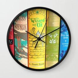 Rainbow Leather Classics Wall Clock