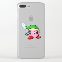 Kirby Clear iPhone Case