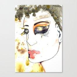 Sindy Big-face Canvas Print