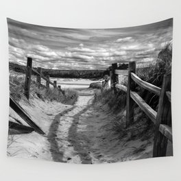 Beach Path Wall Tapestry
