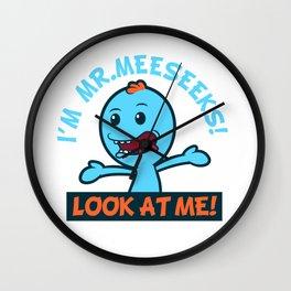 LOOK AT ME! Wall Clock