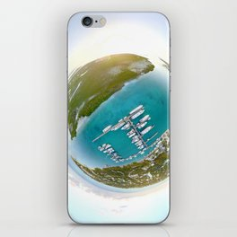 Tiny Planet Turks and Caicos iPhone Skin