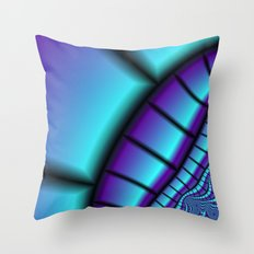 Textiles of the Indigo Throw Pillow