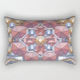 'Abstract pattern 6 (cityscape)' Rectangular Pillow