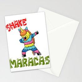Cinco De Mayo - shake your maracas Stationery Cards