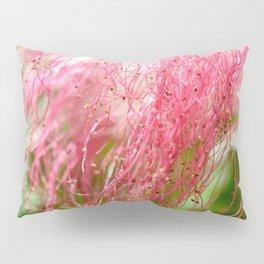 Pink Costa Rican Flower Pillow Sham