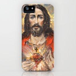 Cor Jesu Sacratissimum III iPhone Case