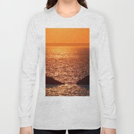 Orange Skies at Sunset Long Sleeve T-shirt
