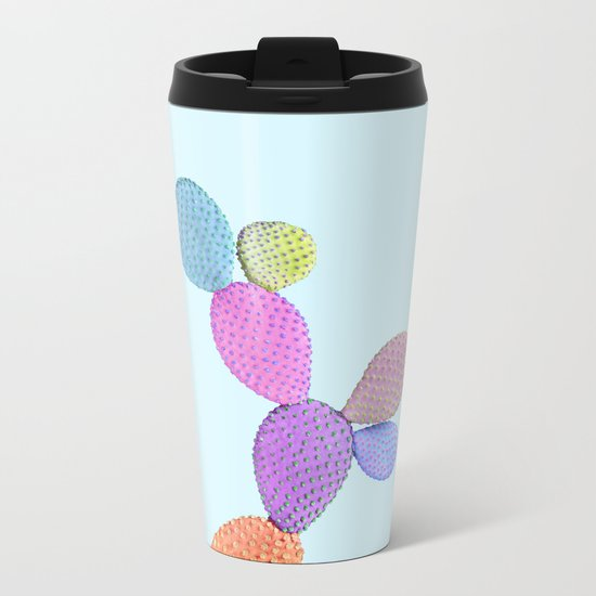 CACTUS COLOR Metal Travel Mug