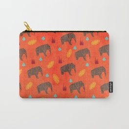 Elephant Origami Carry-All Pouch