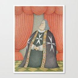 The Grand Master Canvas Print