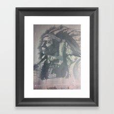 Indian Spirit Framed Art Print