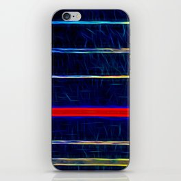 Wired up by Brian Vegas iPhone Skin