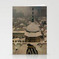 vienna Stationery Cards featuring Vienna 02 by Corrinna