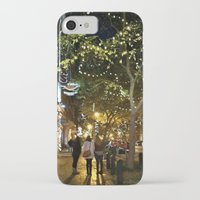 nashville iPhone & iPod Cases featuring Nashville Nightwalks by joralyssadan