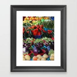 Rainbow of Scrumptiousness I Framed Art Print
