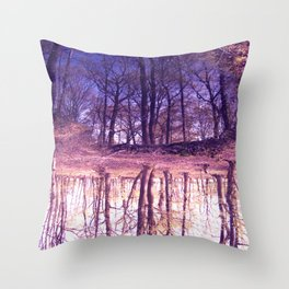 The Nature World up side down Throw Pillow