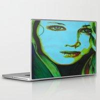 jennifer lawrence Laptop & iPad Skins featuring jennifer by Papa-Paparazzi