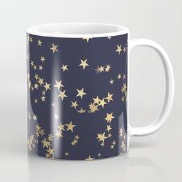 Gold Strars Pattern Coffee Mug