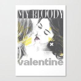 My bloody Valentine Canvas Print