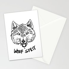 Woof Sprit! Stationery Cards
