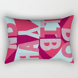 DO IT BY HAND! Rectangular Pillow