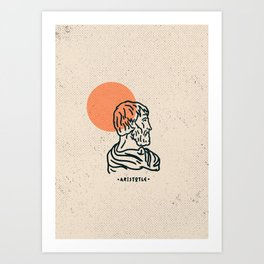 Aristoteles Art Print