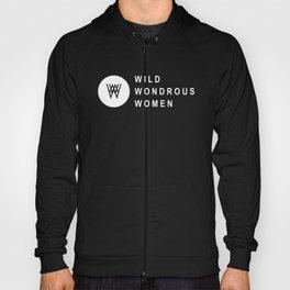 Wild Wondrous Women Logo Tee (White Text Tee) Hoody