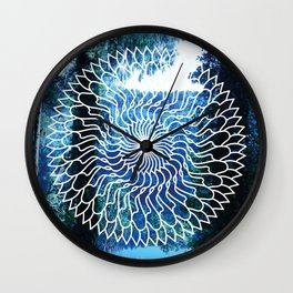 Blue Hour Wall Clock