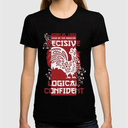 Rooster Chinese Zodiac Sign Horoscope Animal T-shirt