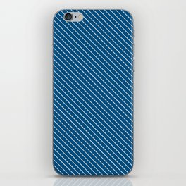 Snorkel Blue Stripe iPhone Skin