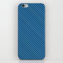 Snorkel Blue Stripe iPhone Skin
