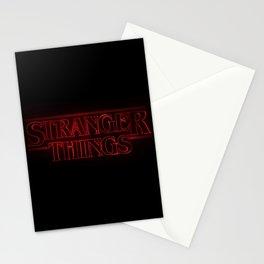 Strange thing Stationery Cards