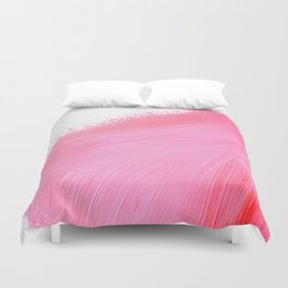 Pink Brushes Duvet Cover