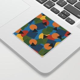Geo-Toss Sticker