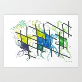 No. 6: Flo Art Print